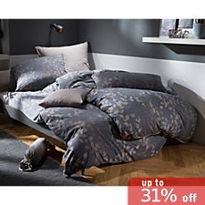 Erwin Müller interlock jersey reversible duvet cover set