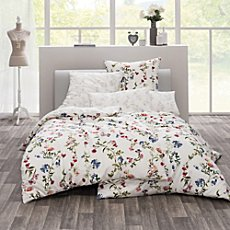 Estella Egyptian cotton sateen 3-piece reversible duvet cover set Smilla