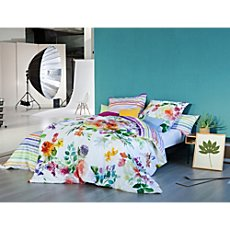 Estella Egyptian cotton sateen duvet cover set  Flower Power