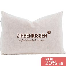 Zirben Familie  Swiss pine wood pillow