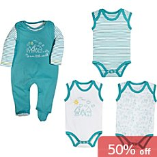 Erwin Müller  5-piece baby clothing set