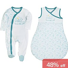 Erwin Müller  baby sleeping bag & sleepsuit