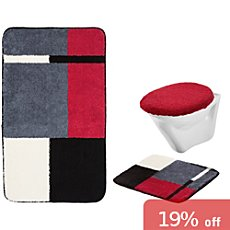 Erwin Müller  3-pc bath mat set