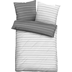 Biberna Egyptian cotton sateen reversible duvet cover
