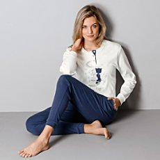 hajo interlock jersey pyjamas