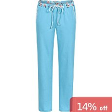 Bloomy single jersey women's full length trousers