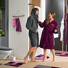 Erwin Müller  unisex bathrobe with hood