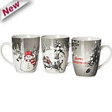 3-pack coffee mugs