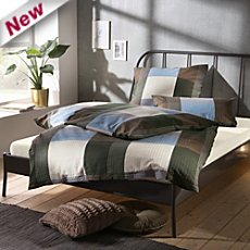Erwin Müller winter seersucker duvet cover set