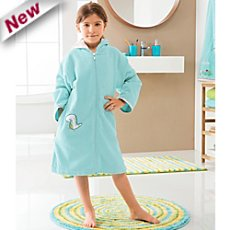 Erwin Müller cotton velour children´s bathrobe