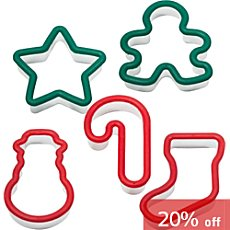 Westmark  cookie cutters, 5-parts