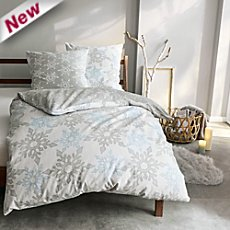Kleine Wolke cotton flannel reversible duvet cover set