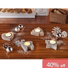 4-pc tealight holders