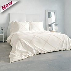 Heckett & Lane percale duvet cover set