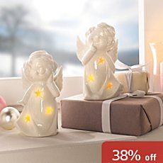 2-pack LED angels