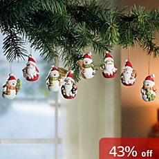 8-pack hanging decoration set