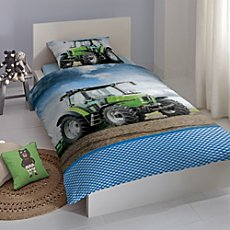Good Morning cotton flannelette duvet cover set
