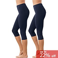 Erwin Müller  2-pack capri leggings