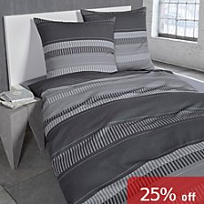 Bugatti Egyptian cotton sateen duvet cover set