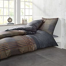 Bugatti cotton flannelette duvet cover set