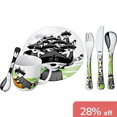 Silit 6-piece children tableware set