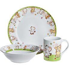 Gepolana  3-piece children tableware set