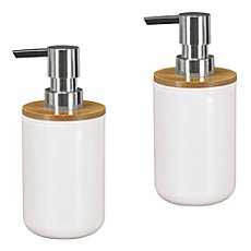 Kleine Wolke  2-pack soap dispensers Timber