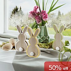 3-pack Easter decoration figurines