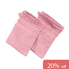 Pack of 2 Erwin Müller wash mitts, Karlsruhe