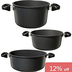 Gepolana  pot set, 3-parts