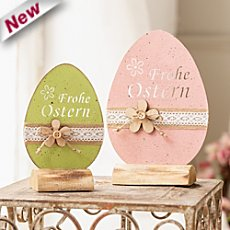 2-pack Easter deocration eggs