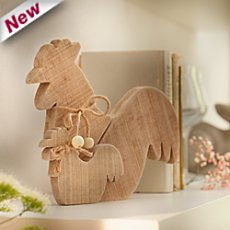 Easter decoration figurine rooster