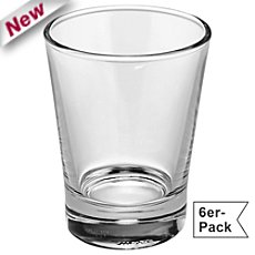 6-pack coffee glasses