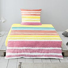 Irisette soft seersucker duvet cover set