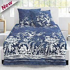 Irisette Egyptian cotton sateen duvet cover set