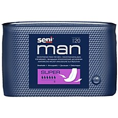 Seni incontinence pads for men