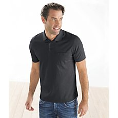 Ragman short sleeved polo shirt