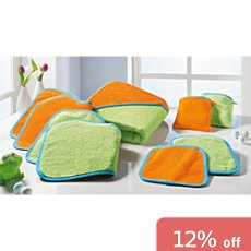 Baby Butt 7-pc towel set