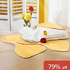 Baby Butt baby towels set