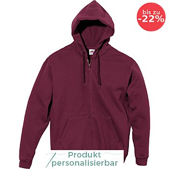 Fruit of the Loom Sweat Unisex-Freizeitjacke