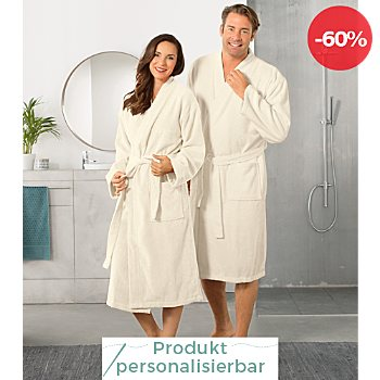 Walk-Frottier Unisex-Bademantel