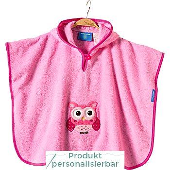 Morgenstern Walk-Frottier Kinder-Poncho