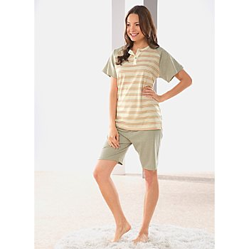 Götting Single-Jersey Damen-Shorty naturbelassen