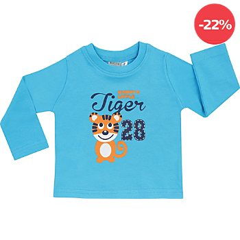 Boley Interlock-Jersey Baby-Langarmshirt