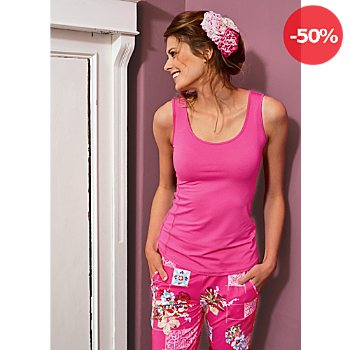 Bloomy by Ringella Mix & Match Single-Jersey Damen-Caprileggings