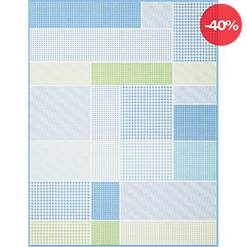 Biederlack Jacquard Wohndecke Colour Cotton