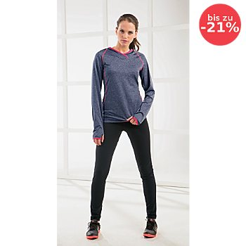 Athlet Single-Jersey Damen-Langarmshirt