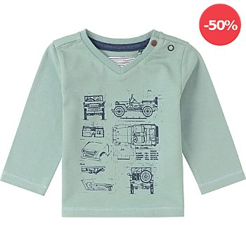Noppies Baby-Langarmshirt