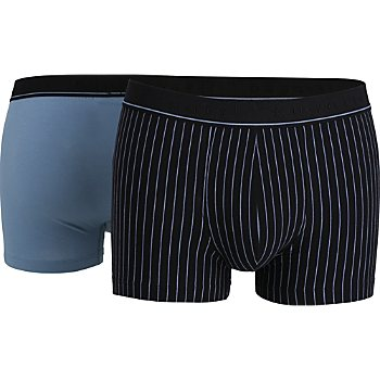 Bugatti Single-Jersey Herren-Pants im 2er-Pack