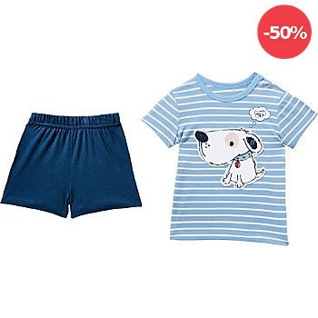 Carodel Single-Jersey 2-teiliges Baby-Set